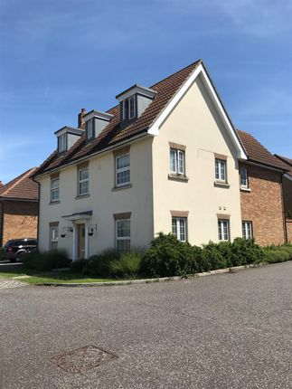 Thumbnail Detached house for sale in Quail Close, Stowmarket