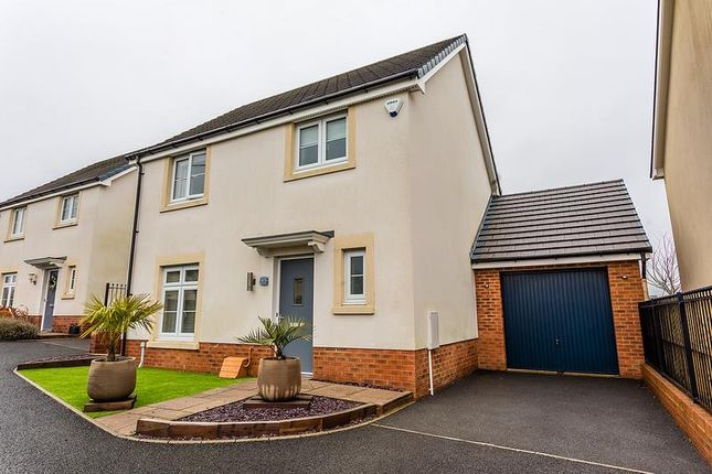 Thumbnail Detached house for sale in Bryn Celyn, Llanharry, Pontyclun