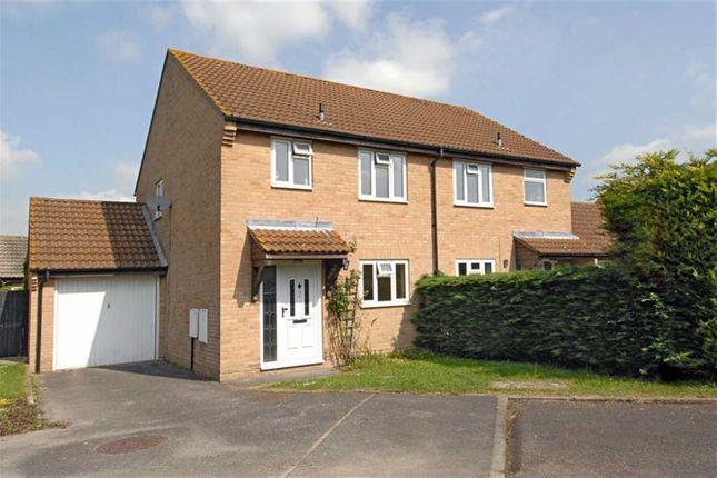 Thumbnail Semi-detached house to rent in Bagnols Way, Newbury