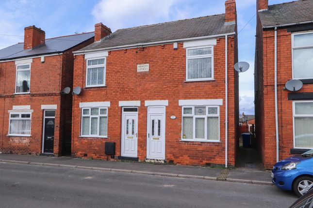 Semi-detached house for sale in Warner Street, Hasland, Chesterfield