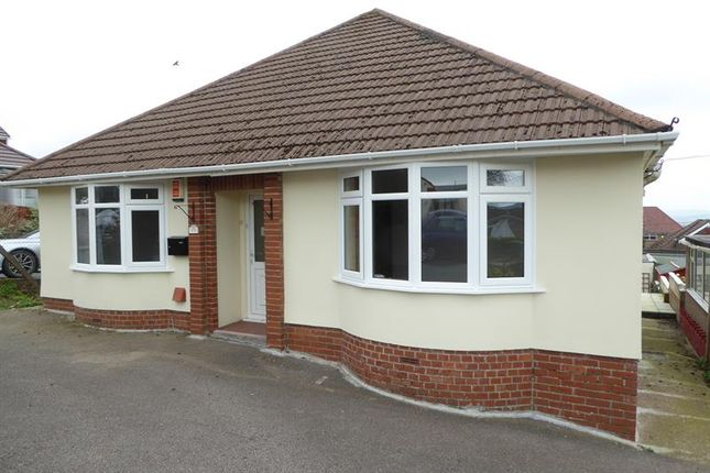Thumbnail Detached bungalow for sale in Lansbury Close, Caerphilly