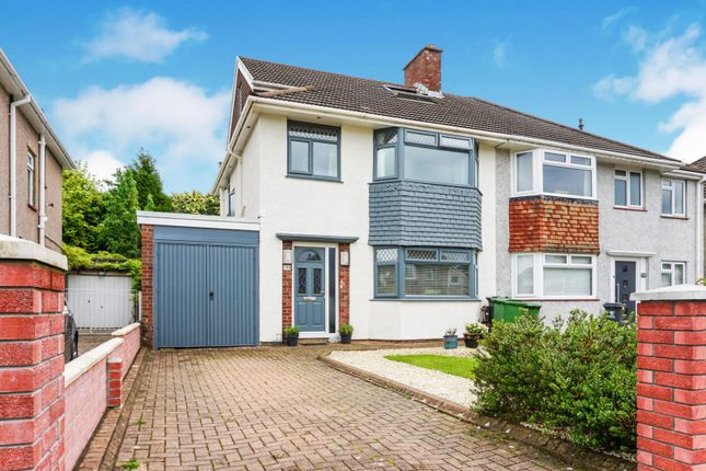 Thumbnail Semi-detached house for sale in Heol Gabriel, Whitchurch