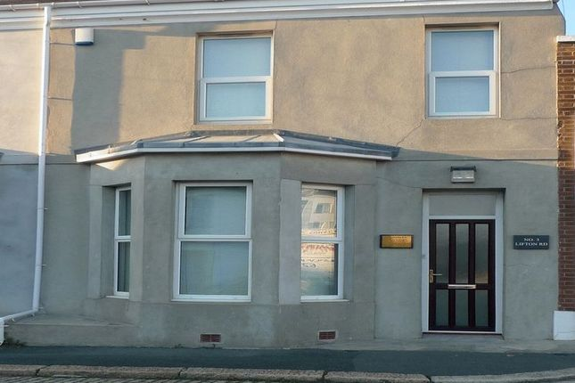 Thumbnail Terraced house to rent in Lifton Road, Plymouth