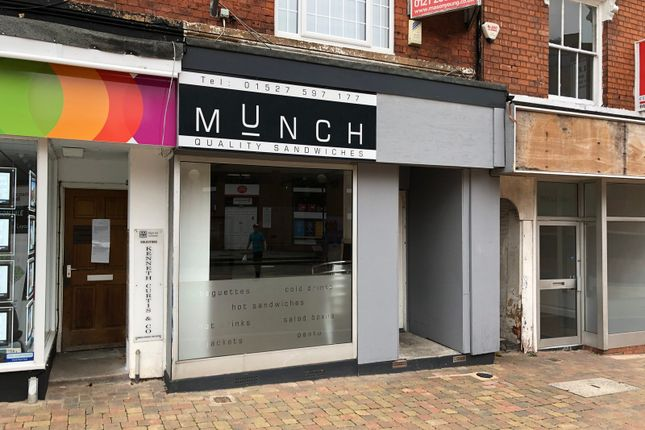 Thumbnail Restaurant/cafe to let in 5 Alcester Street, Redditch
