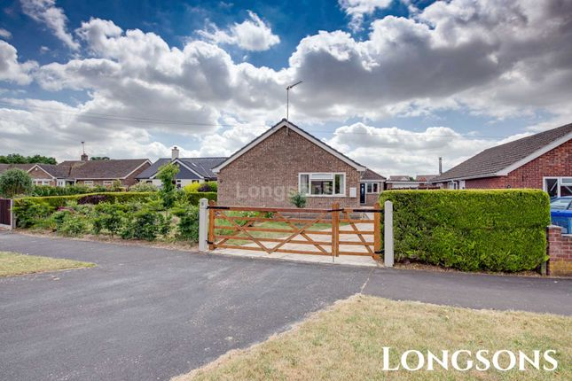 Thumbnail Detached bungalow for sale in Westfields, Narborough