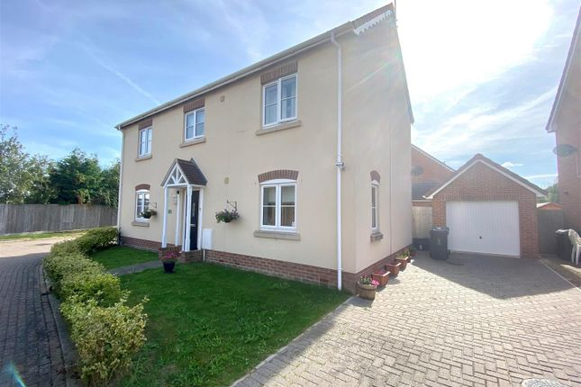 Thumbnail Detached house for sale in Hewers Close, Wanborough, Swindon