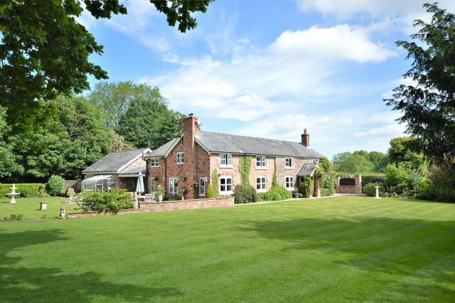 Thumbnail Detached house for sale in Back Lane, Higher Whitley, Warrington