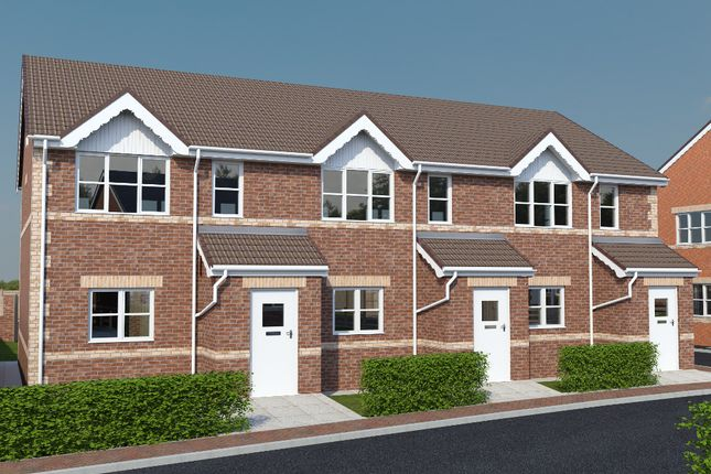 Thumbnail Mews house for sale in Noble Road, North Wingfield, Chesterfield