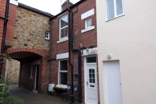 Thumbnail Terraced house for sale in Currys Buildings, Morpeth