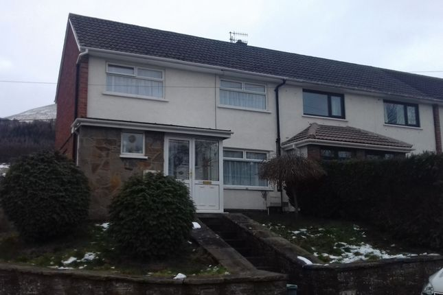 Thumbnail Terraced house to rent in The Avenue, Govilon