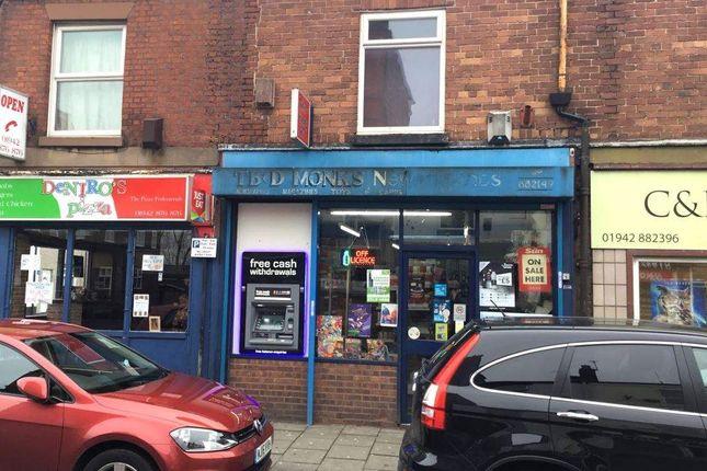 Thumbnail Retail premises for sale in Elliott Street, Tyldesley, Manchester