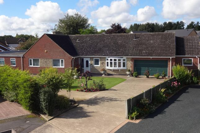 Thumbnail Detached bungalow for sale in Westbrooke Close, Lincoln