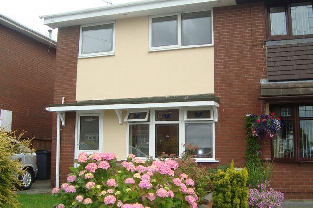 3 bed semi-detached house to rent in Larkin Avenue, Longton, Stoke-On-Trent ST3