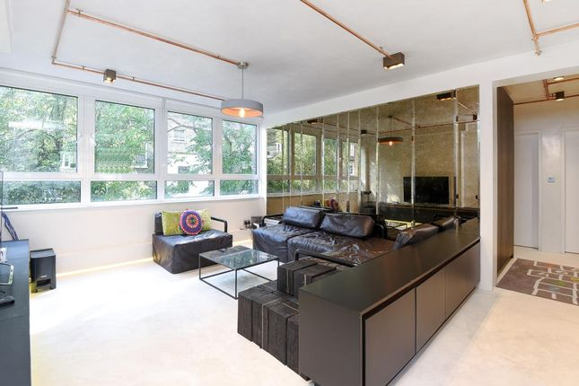Living Room View of Westbourne Park Road W2,