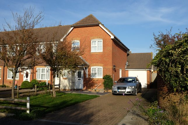 Thumbnail End terrace house to rent in Heron Forstal Avenue, Hawkinge
