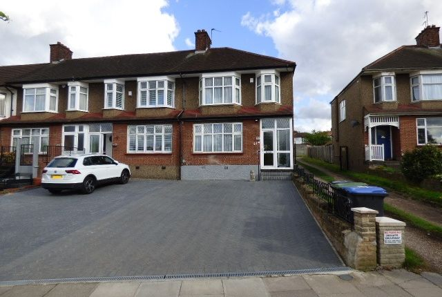 Thumbnail End terrace house for sale in Tottenhall Road, Palmers Green, Enfield
