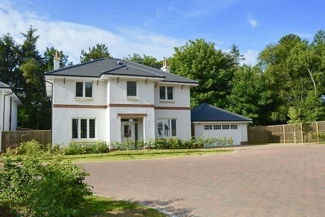 Thumbnail Detached house for sale in Braemore Wood, Troon