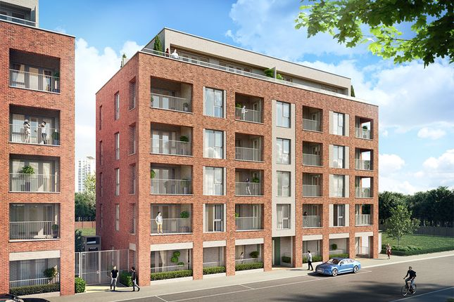 Thumbnail Flat for sale in Battalion Court, Woolwich
