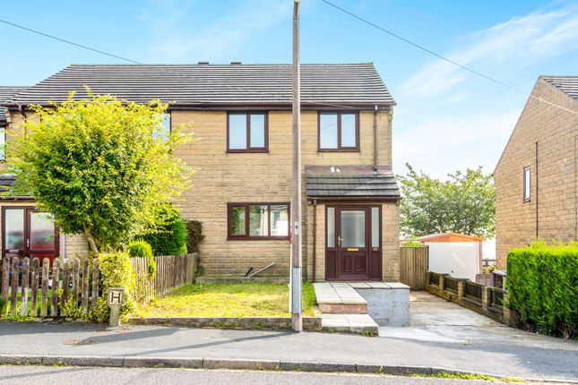 Thumbnail Semi-detached house to rent in Fairfax Crescent, Southowram, Halifax