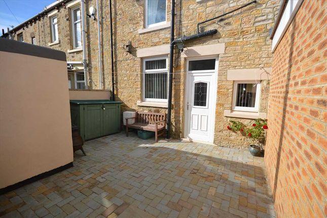 Externally of Welsh Terrace, Annfield Plain, Stanley DH9