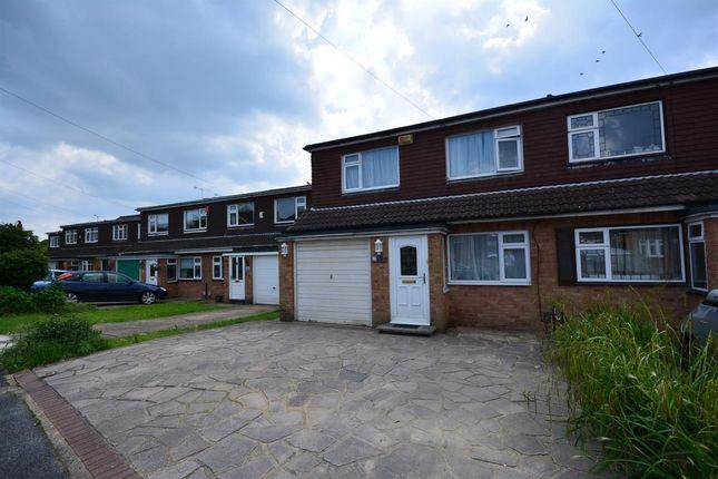 Thumbnail Semi-detached house for sale in Douglas Avenue, Harold Wood, Romford