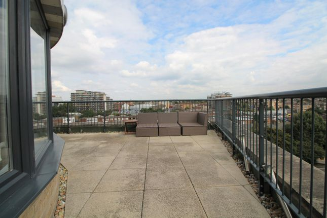 Balcony of Pulse Court, Maxwell Road, Romford RM7