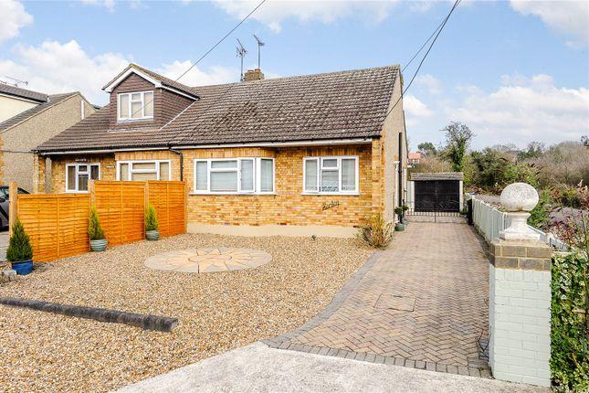 Thumbnail Semi-detached bungalow for sale in Oak Avenue, Crays Hill, Billericay, Essex