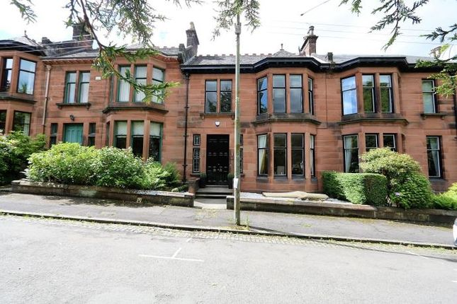 Thumbnail Terraced house to rent in Hughenden Drive, Glasgow