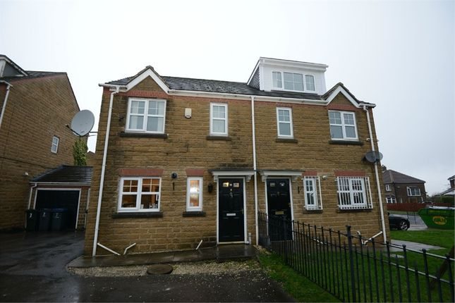 Thumbnail End terrace house for sale in Dewberry Close, Bradford, West Yorkshire