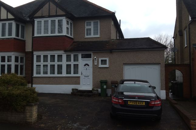 Thumbnail Semi-detached house for sale in Wickham Avenue, Cheam