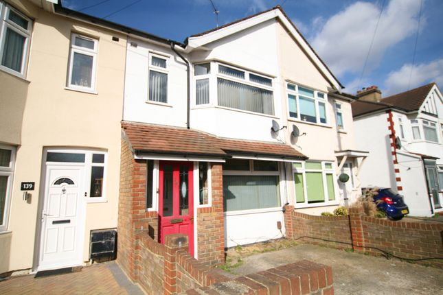 Thumbnail Terraced house to rent in Upminister Road South, Rainham