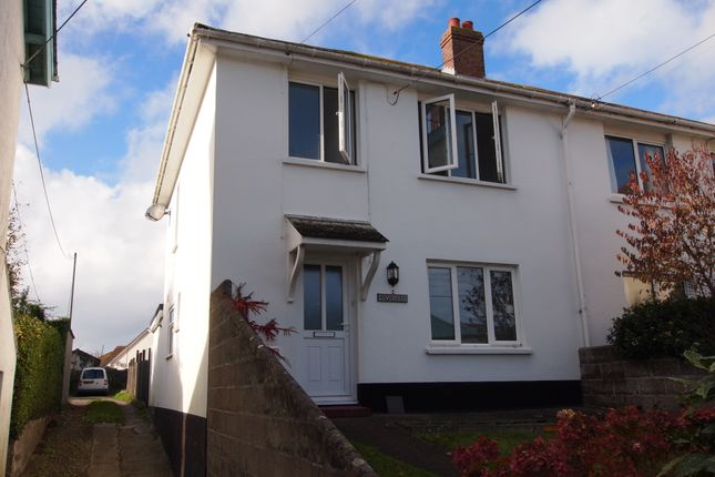 Thumbnail Semi-detached house to rent in Chapel Close, Braunton