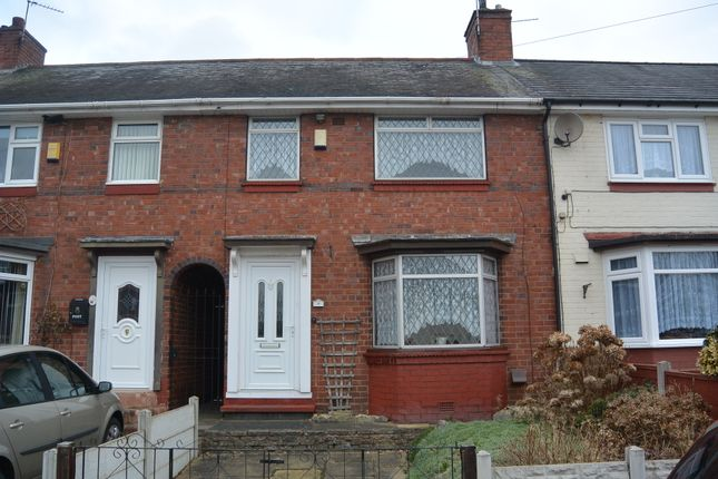 Thumbnail Terraced house for sale in Addenbrooke Road, Smethwick