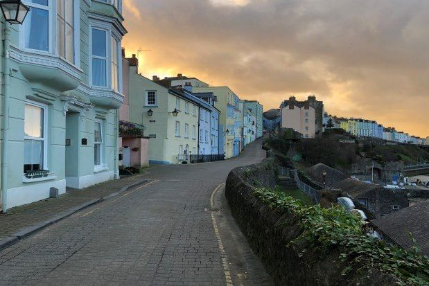 Thumbnail Flat to rent in Crackwell Street, Tenby
