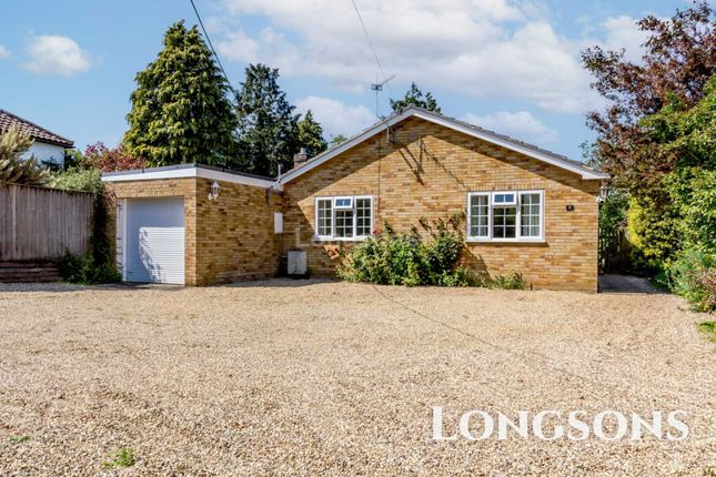 Thumbnail Detached bungalow for sale in Sporle Road, Swaffham
