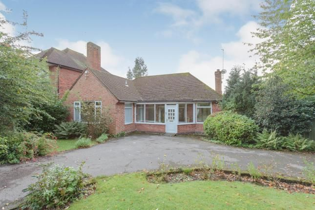 Thumbnail Bungalow for sale in Shirley Road, Stoneygate, Leicester, Leicestershire