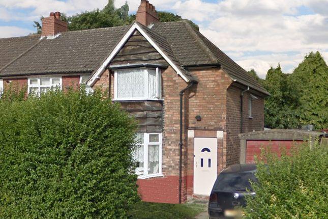 Thumbnail End terrace house for sale in Eastfield Road, Bordesley Green, Birmingham