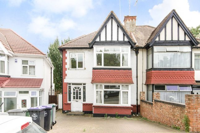 Thumbnail Semi-detached house to rent in Manor Drive, Wembley Park