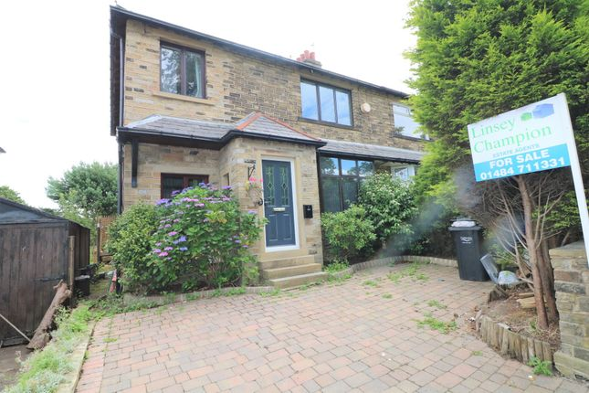 Thumbnail Semi-detached house for sale in Crowtrees Lane, Brighouse