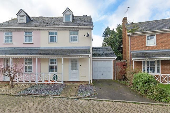 Thumbnail Semi-detached house to rent in Taillour Close, Kemsley, Sittingbourne