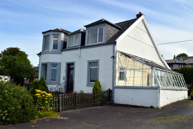 Thumbnail Detached house for sale in Lanerly Garth, Serpentine Road, Rothesay, Isle Of Bute