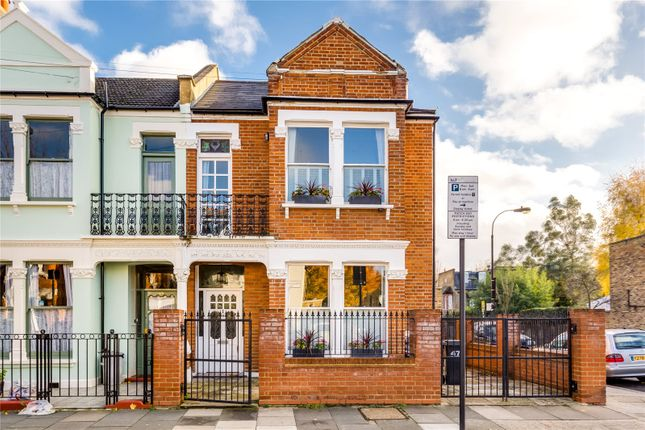 Thumbnail End terrace house for sale in Finlay Street, Alphabet Streets, Fulham, London