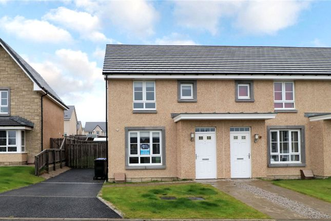 Thumbnail End terrace house to rent in 7 Threave Wynd, Inverurie