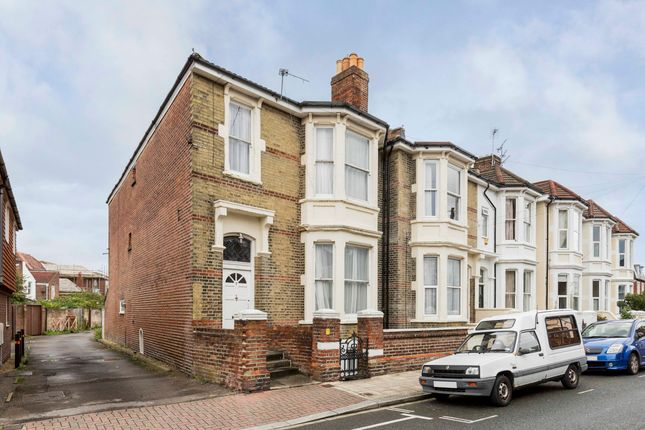Thumbnail End terrace house to rent in St. Edwards Road, Southsea
