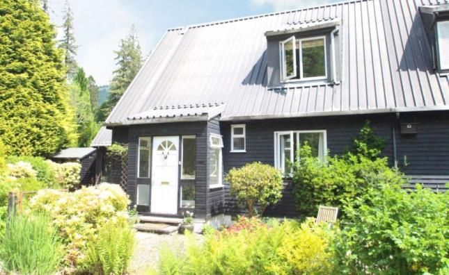 Thumbnail Semi-detached house for sale in Swedish Houses, Strachur, Cairndow, Argyll And Bute