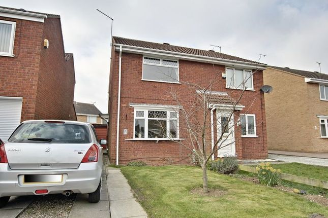 Thumbnail Semi-detached house for sale in Duncombe Court, Hedon, Hull