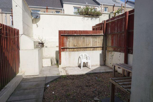 Garden of Cornwall Street, Devonport, Plymouth PL1