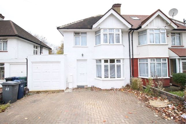 Thumbnail Semi-detached house to rent in Farm Road, Edgware, Middlesex