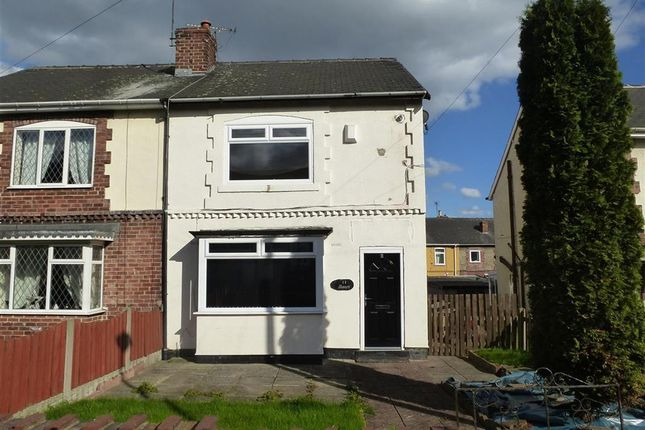 Thumbnail Semi-detached house to rent in Manor Avenue, Goldthorpe, Rotherham
