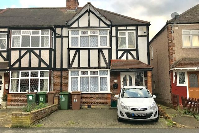 Thumbnail Terraced house for sale in Chatworth Road, Cheam